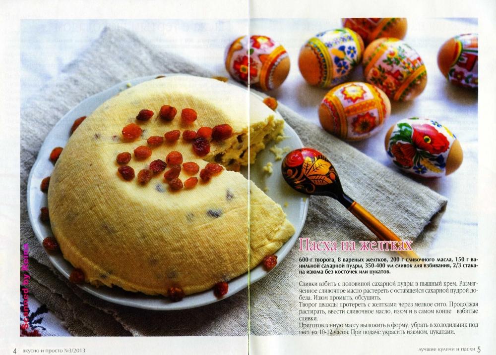 Простые и вкусные рецепты пасхи с фото